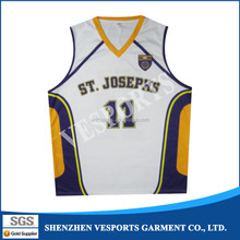 Youth Training Sublimated Basketball Uniforms For Training