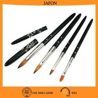 Beauty rhinestone professional artist kolinsky nail brush