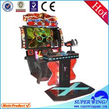 Amusement indoor children shooting gun game machine exporter