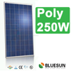 High efficiency CE TUV IEC UL germany stock poly 250W solar panels in china