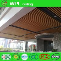 China supplier cheapest wall paneling and ceiling wpc wall cladding