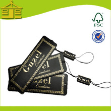 Garment Hot Stamp And Emboss Logo Cheap Tag With Tablets