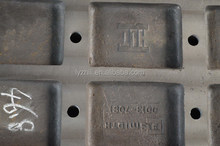 Design hot sell jaw plate with locker