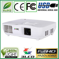 Best hd pico projector machine 1080p FULL HD 1920*1080 video game home theater business education mini projector CRE