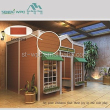 Anti-UVKids playhouse /WPC Prefabricated House /kids wooden playhouse