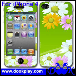 Colorful Skin for iPhone 4 Sticker
