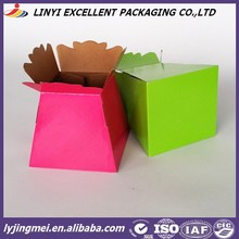 special used cheap paper box for flower packing