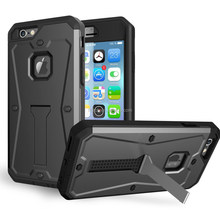 New arrival armor case for iphone 6, armor shockproof waterproof cell phone case for iphone 6
