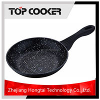 Forged aluminum non stick lava cooking stone pan
