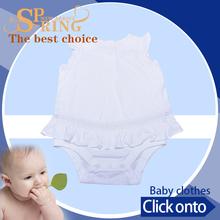 brand Best price cotton print thailand baby dress sale GB051