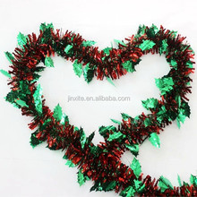 tinsel curtains party decoration christmas wired tinsel garland stage decoration for