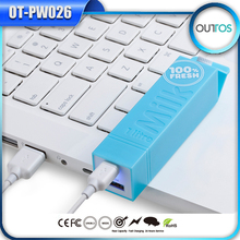 Portable milk 2200mah power bank for macbook pro /ipad mini