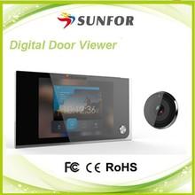 Sunfor 2015 new product 3.5 inch digital door viewer