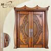 Karachi teak wood front double doors carving designs