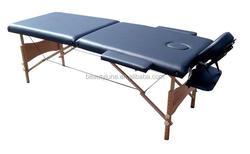 2 section portable folding wooden massage bed /foam folding chair bed/folding bed/ceragem massage bed/ceragem price PBB-13-2
