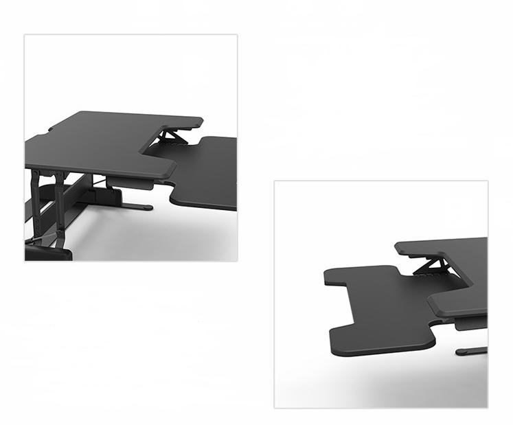 Ergon mico levantar mesa mesa do computador port til mesas for Altura escritorio ergonomico