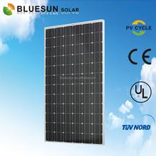 Bluesun chinese factory direct sale UL TUV CE ISO standard mono 300w high quality australian standard solar panel