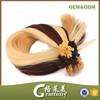 Brazilian human hair u tip i tipped keratin pre bonded hair extension wholesale