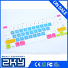 """Super Thin Six Colored Silicone Computer Keyboard Skin for macbook air13"""" With Custom Logo"""