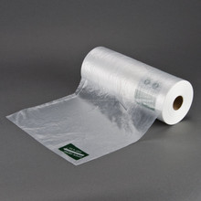 Transparent plastic bag on roll with STANDARD quality from Vietnam/ safe for using