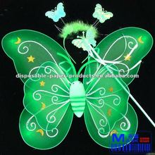 Wholesale Fairy Pixie Wings Butterfly Costume Fairy Dress Up Party Set , Free Shipping
