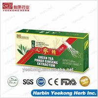 Panax Ginseng Extract with Green Tea- GMP