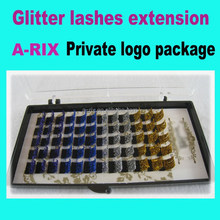 Synthetic Glitter Lash private logo package