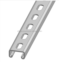 Perforated strut Channel