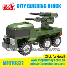 LXGO 93Pcs Military Missile Truck Building Block Educational toy