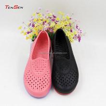 Mince sexy durable respirant lumière douce et confortable mode best - seller injection eva deux couleur dame sandales slip - on chaussures