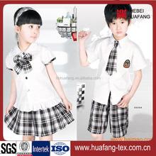 hot sale school uniform fabric shirts wholesale