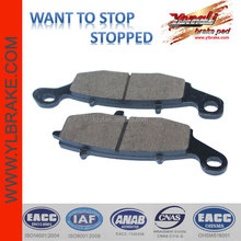 ceramic quality brake pad for KAWASAKI- ER-6F/ ZR-X 400 E3 ,Excellent disc brake pad for motorcycle ATV scooter,factorysupply