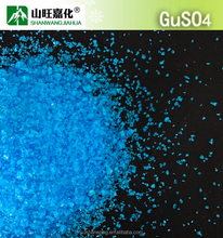 Copper sulphate crystal in sulphate price 96%