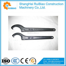 Flat C Type Spanner Wrench Hook Wrench