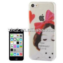 Deaming Pattern Crystal Protective Case for iPhone 5C