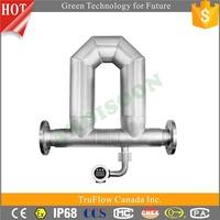 Cost-efficient fuel tank flow meter, fuel flow meter, diesel fuel flow meter