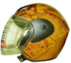 yueqing yellow blace motorcycle helmet open face helmet motorcycles