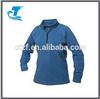 Ladies Half Zipper Microfleece Jacket