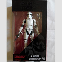 2015 movie Star Wars 7 Star Wars: The Force Awakens the black series Stormtrooper 6inch toy action figure