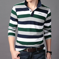 Made in China 100% Cotton Sport Striped Polo T Shirt for Mens Wholesale+OEM FL0008