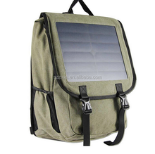 Soft and portable sunpower solar backpack, solar bag with solar chager
