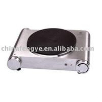 Cast iron burner plate