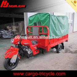 Motorized cargo tricycle with roof,roof covered tricycle for cargo