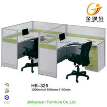 Top quality modern office standard sizes of workstation furniture