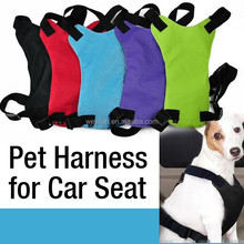 Dog seat belt collar pet lead leash