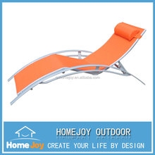 Hot selling patio sun lounger with pillow, indoor sun lounger