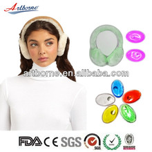 Artborne 2014New Design heat click pad reusable for ears protect(CE/FDA/EN71/MSDS Approved)