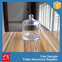 Large Glass Jar Pillar Candle Holder
