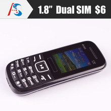 cheapest OEM dual sim basic phone mobile with whatsapp facebook 6$