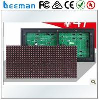 Free shipping leeman P10 LED module led scrolling sign PH10mm RGB full color 320mm*160mm led display